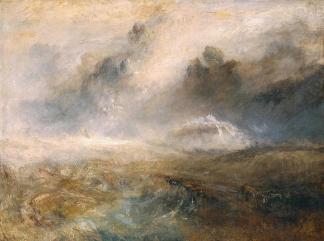 turner stormy seas