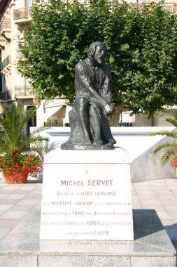 Centenaire statue Michel Servet