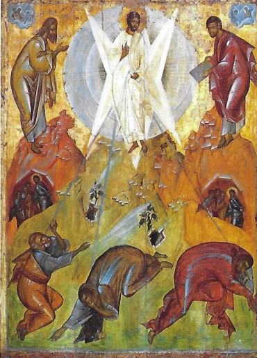theophanes transfiguration good version 1