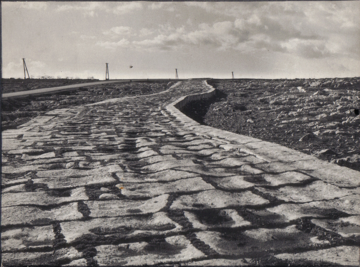 roman road in north syria